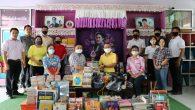 พลเอกธนา จารุวัต พร้อมครอบครัว มอบหนังสือให้กับทางโรงเรียนศึกษาสงเคราะห์ โดยมีผู้อำนวยการ นัษฐภัทร์ ไกรงาม และคณะครูให้การต้อนรับ วันที่ 21 พฤษภาคม 63